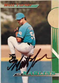 Matt Turner Autographed 1993 Stadium Club #27