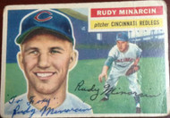 Rudy Minarcin Autographed 1956 Topps #36