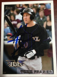 Todd Frazier Autographed 2010 Topps Pro Debut #227