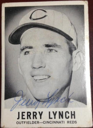 Jerry Lynch Autographed 1960 Leaf #45