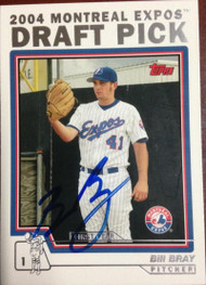 Bill Bray Autographed 2004 Topps Traded and Rookies #T77
