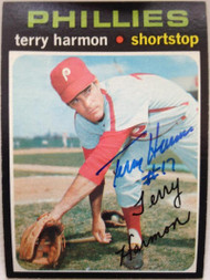 Terry Harmon Autographed 1971 Topps #682