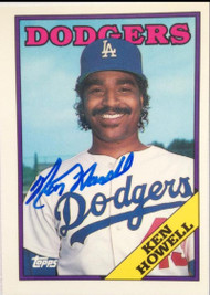 Ken Howell Autographed 1988 Topps Tiffany #149
