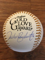 SOLD 4074 Tucker Barnhart Autographed Rawlings Gold Glove Baseball