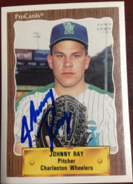 Johnny Ray Autographed 1990 Pro Cards #2240