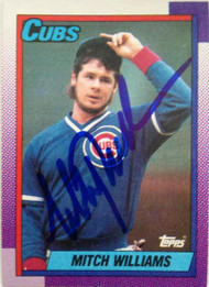 Mitch Williams Autographed 1990 Topps #520