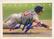 Mike Pagliarulo Autographed 1993 Upper Deck #306