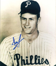 Dallas Green Autographed Phillies 8 x 10  Photo 3