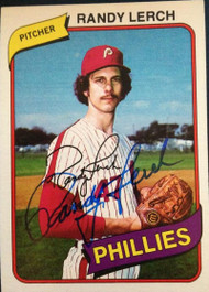 Randy Lerch Autographed 1980 Topps #344