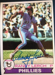 Randy Lerch Autographed 1979 Topps #52