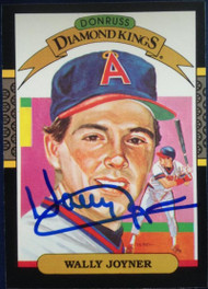 Wally Joyner Autographed 1987 Donruss #1 Diamond King