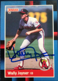 Wally Joyner Autographed 1988 Donruss #110