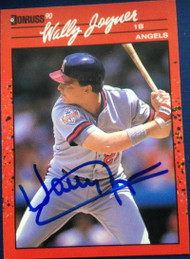 Wally Joyner Autographed 1990 Donruss #94