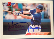 Wally Joyner Autographed 1992 Bowman #435