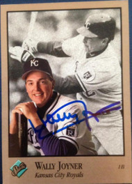Wally Joyner Autographed 1992 Studio #185