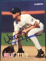 Wally Joyner Autographed 1996 Fleer Update #U198