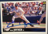 Wally Joyner Autographed 1997 Collectors Choice #445