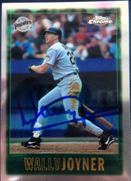 Wally Joyner Autographed 1997 Topps Chrome #50