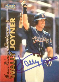 SOLD 4530 Wally Joyner Autographed 1999 Fleer Tradition #273