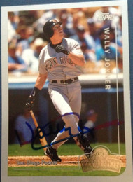 Wally Joyner Autographed 1999 Topps Opening Day #152