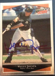 Wally Joyner Autographed 1999 Ultimate Victory #342