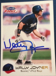 Wally Joyner Autographed 2000 Fleer Focus #85