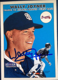 Wally Joyner Autographed 2000 Fleer Tradition #409