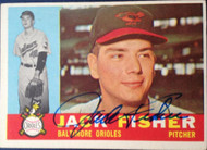 Jack Fisher Autographed 1960 Topps #46