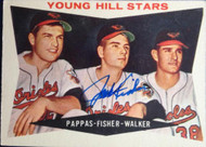 Jack Fisher Autographed 1960 Topps #399