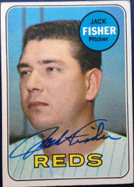Jack Fisher Autographed 1969 Topps #318