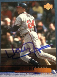Wally Joyner Autographed 2000 Upper Deck #323