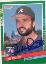 Jeff Parrett Autographed 1991 Donruss #660