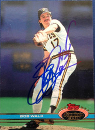 Bob Walk Autographed 1991 Stadium Club #14