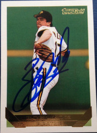 Bob Walk Autographed 1993 Topps Gold #685