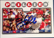 Greg Dobbs Autographed 2008 Topps #443