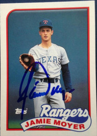 Jamie Moyer Autographed 1989 Topps Traded #85T