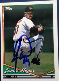 Jamie Moyer Autographed 1994 Topps #526