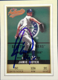 Jamie Moyer Autographed 2002 Fleer Authentix #124