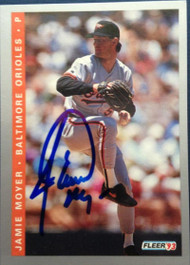 Jamie Moyer Autographed 1993 Fleer Final Edition #F-160