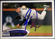 Jamie Moyer Autographed 2012 Topps Update #US46