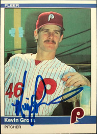 Kevin Gross Autographed 1984 Fleer #32
