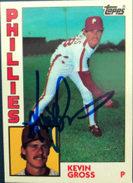 Kevin Gross Autographed 1984 Topps Tiffany #332