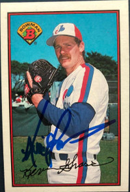 Kevin Gross Autographed 1989 Bowman #355