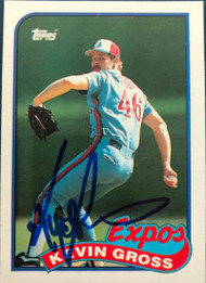 Kevin Gross Autographed 1989 Topps Traded #42T