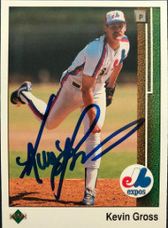 Kevin Gross Autographed 1989 Upper Deck #719