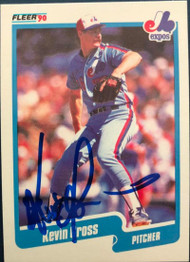 Kevin Gross Autographed 1990 Fleer #348