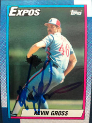 Kevin Gross Autographed 1990 Topps #465