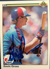 Kevin Gross Autographed 1990 Upper Deck #468