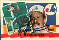 Kevin Gross Autographed 1990 Topps Big #3
