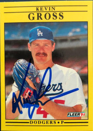 Kevin Gross Autographed 1991 Fleer Update #U-94